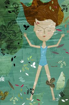 Ilustración realizada para la novela Nada de Carmen Laforet
