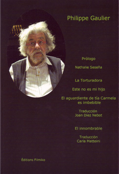 La Torturadora, el libro de Philippe Gaulier que se está presentando estos días