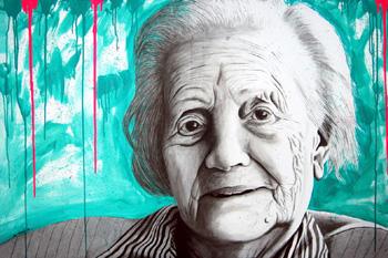 Retrato de Concha Carretero