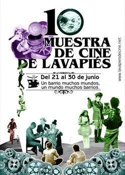 Cartel de la 10 Muestra de Cine de Lavapiés