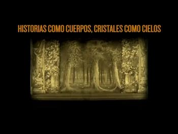 Cartel del mediometraje Historias como cuerpos, cristales como cielos