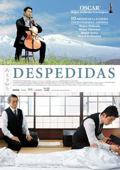 Cartel del largometraje Despedidas
