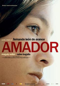 Cartel del largometraje Amador