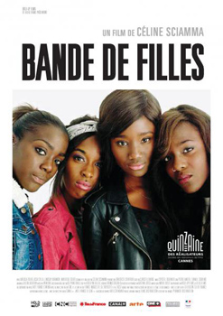 Cartel del largometraje Girlhood