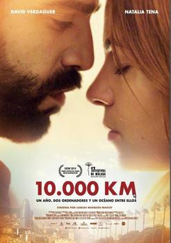 Cartel del largometraje 10.000 Km
