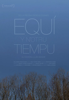 Cartel del largometraje Equí y n'otru tiempu
