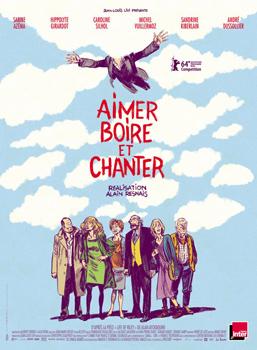 Cartel del largometraje Aimer, boire et chanter