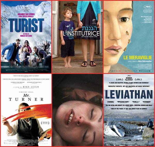 Largometrajes de la Sección Oficial premiados por el Jurado Internacional en la 11 edición del Festival de Cine Europeo de Sevilla