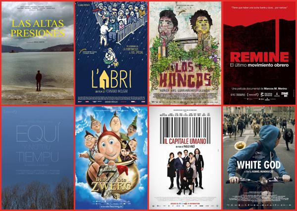 Largometrajes del resto de las secciones premiados por los jurados en la 11 edición del Festival de Cine Europeo de Sevilla