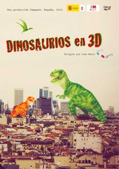 Cartel de la película Dinosaurios en 3D