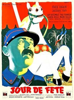 Cartel de la película Día de fiesta