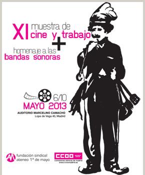 Cartel de la XI Muestra de Cine y Trabajo
