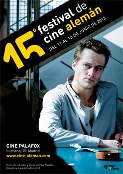 Cartel del Festival de cine alemán en Madrid