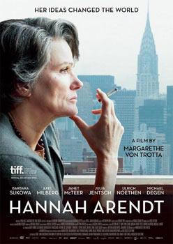 Cartel de la película Hannah Arendt