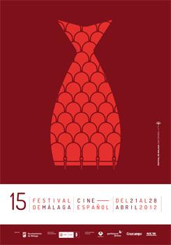 Cartel del 15 Festival de Málaga Cine Español