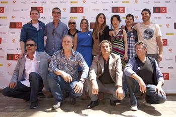 El equipo de la película The Pelayos posa durante el Festival de Málaga