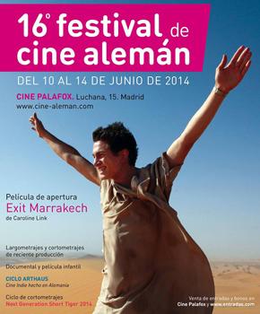 Cartel del Festival de Cine Alemán de Madrid