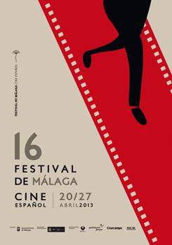 Cartel del 16 Festival de Málaga Cine Español