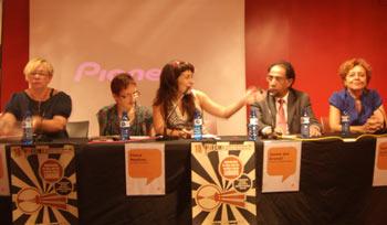 Ana Solano, Elena Medina, Amanda Guadamillas, Jaime del Arenal e Isabel Coll