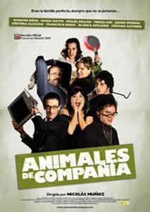 Cartel de «Animales de compañía»