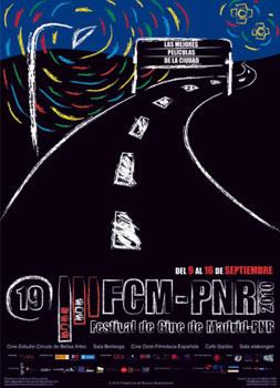 Cartel del 19 Festival de Cine de Madrid - Plataforma de Nuevos Realizadores