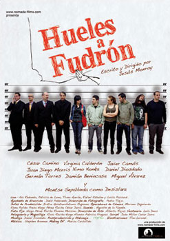 Cartel del cortometraje Hueles a fudrón