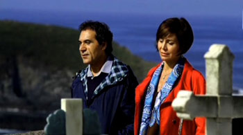 Manuel Pizarro e Isabel Prinz en un fotograma de Al tercer día