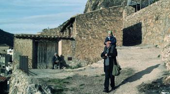 Teo Planell y Luis Bermejo en un fotograma de ¡Qué divertido!