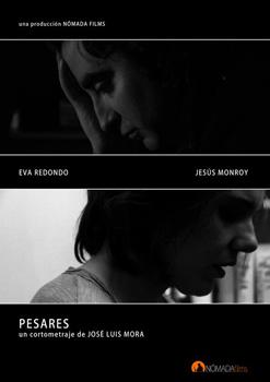 Cartel del cortometraje Pesares