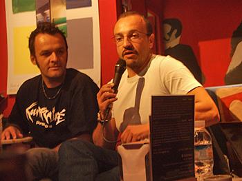 Los directores José Víctor Fuentes y Tommy Llorens