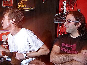 José Fernández, presidente de la PNR, y Jesús Monroy, director, actor y productor