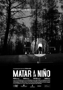 Cartel del cortometraje Matar a un niño