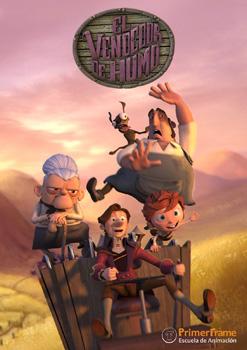 Cartel del cortometraje El vendedor de humo
