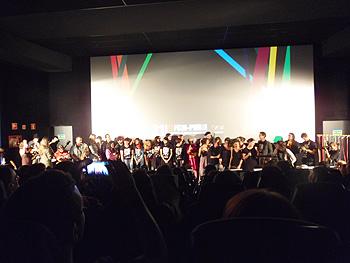 El instante final de la veintiuna edición del Festival de Cine de Madrid - Plataforma de Nuevos Realizadores en los cines Callao