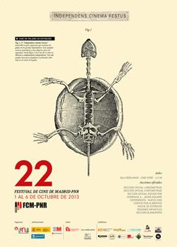 Cartel de la 22 edición del Festival de Cine de Madrid-PNR
