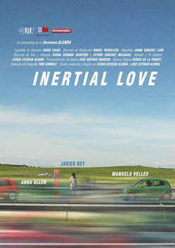 Cartel de corto Inertial love