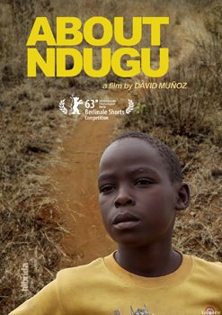 Cartel del corto About Ndugu