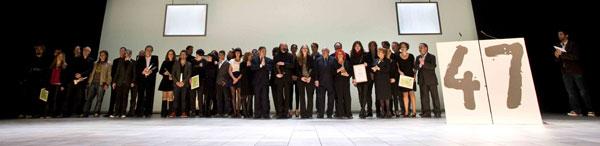 Los premiados en la 47 edición del Festival Internacional de Cine de Gijón