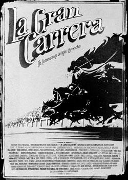 Cartel del cortometraje La gran carrera