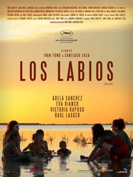 Cartel del largometraje argentino Los labios