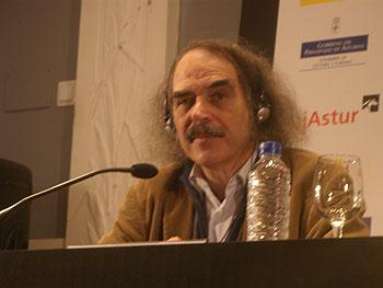 El director homenajeado Eugène Green