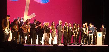 Los premiados en la 48 edición del Festival Internacional de Cine de Gijón