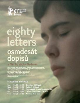 Cartel de la película Osmdesát dopisů / Eighty Letters
