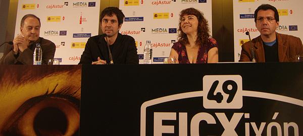 Fernando Lara, Eduardo Chapero-Jackson, Lola Mayo y Alberto Fuguet, Jurado Internacional en la 49 edición del Festival Internacional de Cine de Gijón