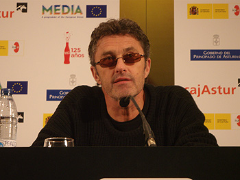 Pawel Pawlikowski, director de la película The Woman in the Fifth, durante la rueda de prensa de presentación