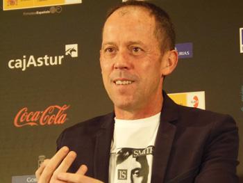 Luis San Narciso durante la rueda de prensa del Premio Nacional de Cinematografía Nacho Martínez