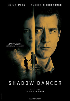 Cartel de la película Shadow dancer de James Marsh