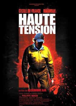 Cartel de la película Haute tension de Alexandre Aja