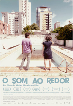 Cartel de la película O Som ao redor / Neighbouring Sounds de Kleber Mendonça Filho