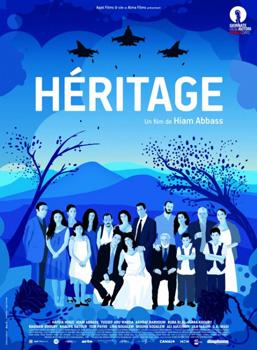 Cartel de la película Héritage / Inheritance de Hiam Abbass